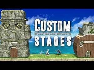 Custom Stages Super Smash Bros For Wii U YouTube