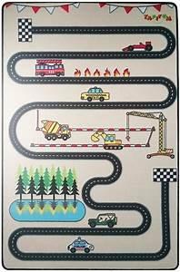 Tapis De Voiture Enfant : tapitom tapis enfant circuit design 130 x 200 cm ~ Teatrodelosmanantiales.com Idées de Décoration