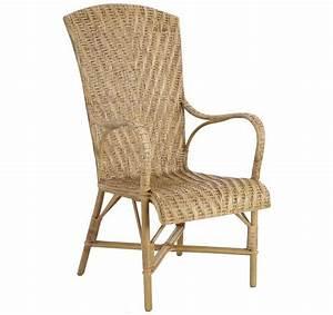 Fauteuil En Rotin : fauteuil en manau et lame de rotin antique ~ Teatrodelosmanantiales.com Idées de Décoration