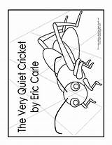 Coloring Quiet Cricket Firefly Lonely Template Puzzle Activities Printables Sheet Popular Coloringhome Version sketch template