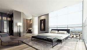 Modernes Schlafzimmer Einrichten : modernes schlafzimmer weiss ~ Michelbontemps.com Haus und Dekorationen