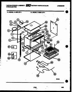 Oven Body Parts Diagram  U0026 Parts List For Model 1165530004