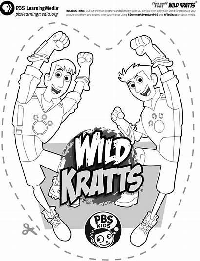 Kratts Wild Pbs Printable Printables Flat Pbskids