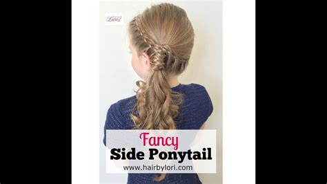 Fancy Side Ponytail Hairstyles by Fancy Side Ponytail Hairstyle