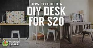 How to Build a Desk for $20 (Bonus: 5 Cheap DIY Desk Plans