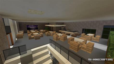 skachat modern restaurant  lounge dlya minecraft