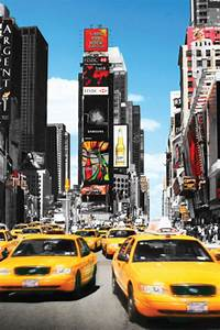 New York Poster : poster new york yellow cabs boutique new york ~ Orissabook.com Haus und Dekorationen