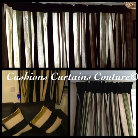 matching cushions and curtains