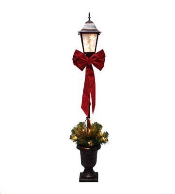 christmas lamp post led light indoor decoration garden