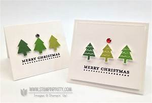 Stampin Up Merry Minis Gift Cards