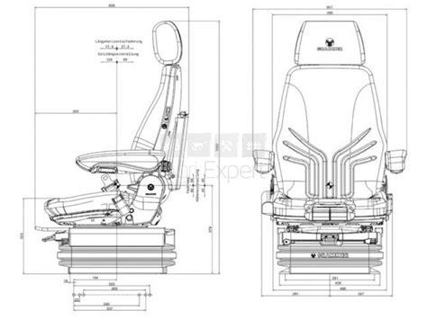 grammer siege tracteur siège grammer msg chargeur sur roues toutes merques