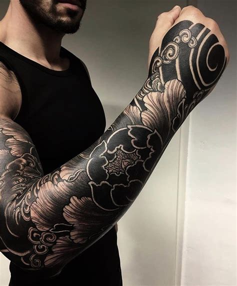 great japanese tattoo sleeve super strong  bold