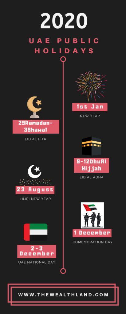 united arab emirates public holidays year
