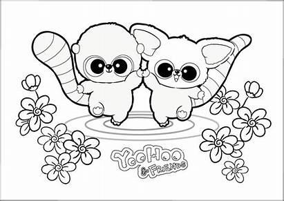 Coloring Friends Pages Yoohoo Cartoon Megamind