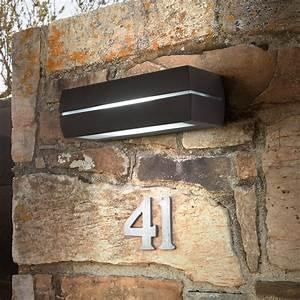 Applique Extérieure Gris Anthracite : applique murale d 39 ext rieur dragma ip65 gris anthracite ~ Dailycaller-alerts.com Idées de Décoration