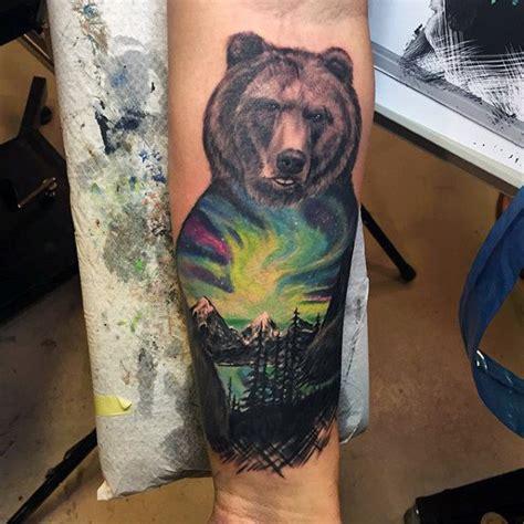 Mens Back Deer Tattoos