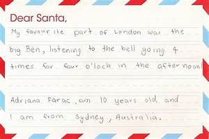 best letters to father christmas on the lmt christmas tour With christmas letter for kids