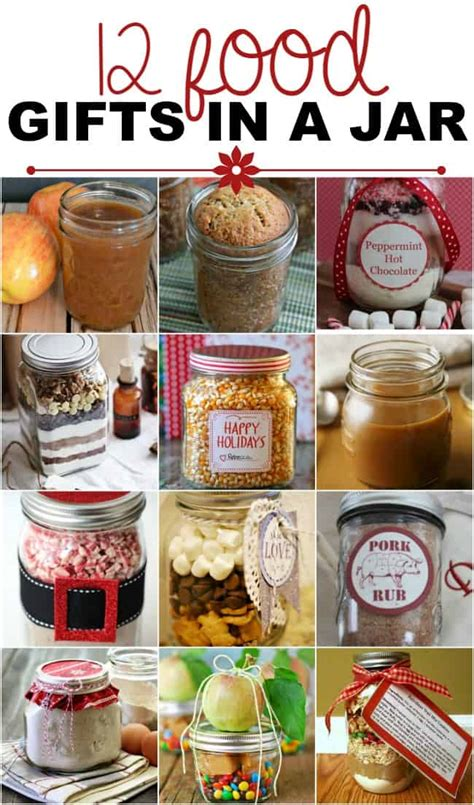 food gifts in a jar recipes