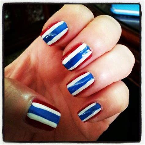 thailand flag nail art nail ddesign pinterest