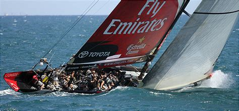 Tige Boats Nz by America S Cup Team New Zealand Widens Its Lead The New