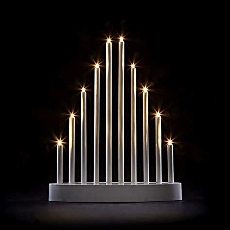 buy plastic tube candle bridge warm white led lights 10b