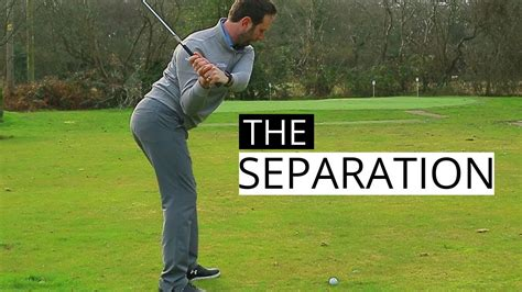 basic golf swing basic golf swing tips on how to create a separation golf