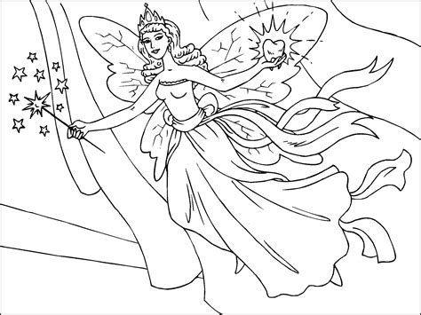 Free Printable Fairy Coloring Pages For Kids everything