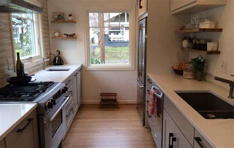 kitchen layout ideas galley 12 small kitchen layouts for better space organization