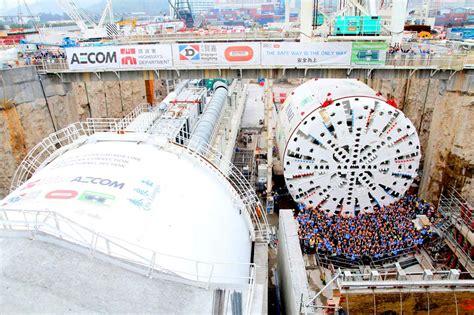 si鑒e de bouygues construction bouygues met en service le plus grand tunnelier au monde