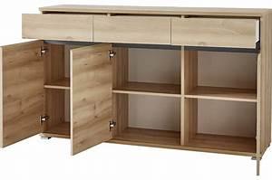 Modernes Sideboard : bahut buffet salon design d cor bois h tre 144 cm cbc ~ Pilothousefishingboats.com Haus und Dekorationen