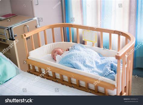 Newborn Baby Hospital Room New Born Stock Photo 300996413