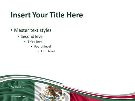 mexico flag powerpoint template presentationgocom
