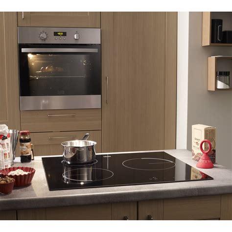 cuisine gaz ou electrique lot table de cuisson induction fei6230fba four