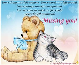 Miss You messages, Miss You Message, SMS or MSG | Dgreetings