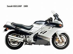 Suzuki Gsx1100  Gsx1100f  Gs1150 1980