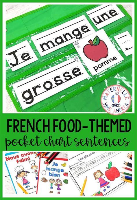 Phrases fantastiques - Je mange! (FRENCH Food Pocket Chart ...