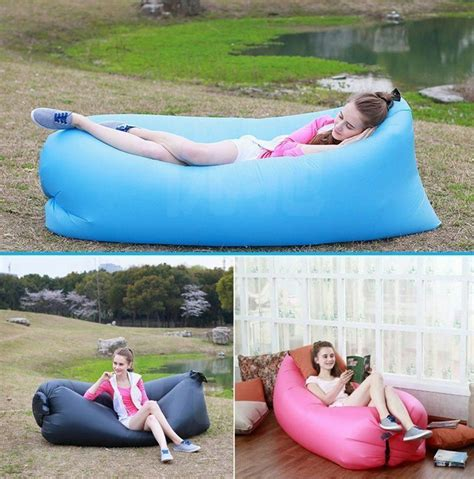 Take a peek at these images to aid decide which is the greatest for you. Outdoor Inflatable Sofa Air Bed Lounger Chair Sleeping Bag Mattress Seat Sports   eBay