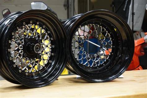 honda ruckus gy custom billet wheels rolling wrench