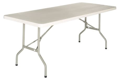 table pliante en plastique tulle table pliante en plastique de couleur gris beige direct si 232 ge
