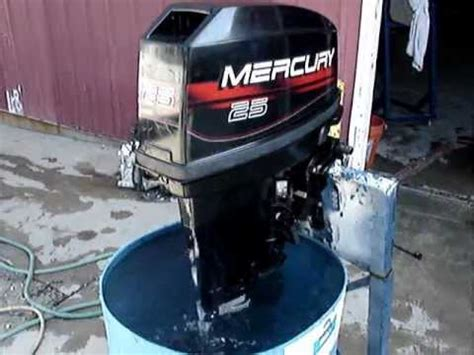 1996 mercury 2 stroke 25hp outboard tiller 20 quot shaft