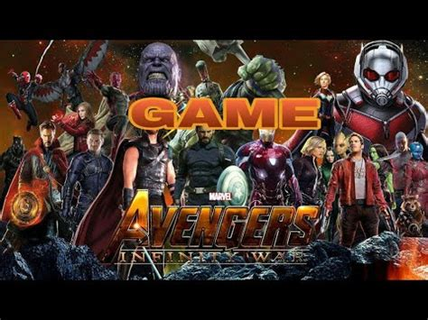 avengers infinity war game android ios ps ps xbox