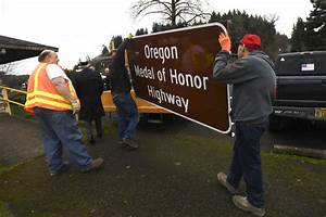 New signs in Sweet Home celebrate Medal of Honor winners ...