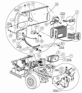 Wiring Diagram 2000 Club Car Ds 48 Volt