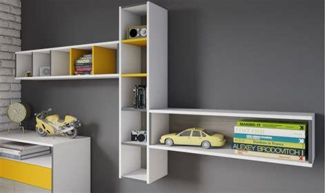 etagere chambre ado vente meuble de rangement mural design collection