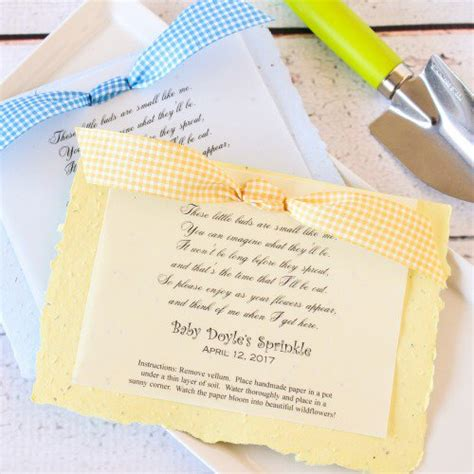Alized Baby S Ertable Seed Poem Favor
