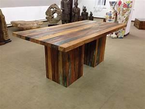 Esstisch Holz 200 X 100 : massivholztisch esstisch aus recyceltem holz der tischonkel ~ Bigdaddyawards.com Haus und Dekorationen