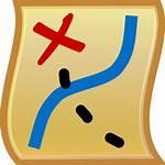 Icon Map Svg Pixels 128 Kb Wikimedia