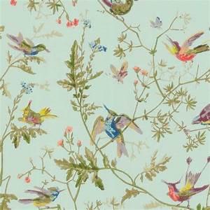 Papier Peint Cole And Son : papier peint humming birds cole and son ~ Dailycaller-alerts.com Idées de Décoration