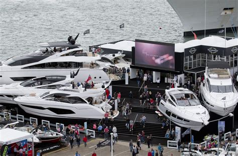 Yacht And Boat Show by Theyachtmarket Southton Boat Show Sunseeker