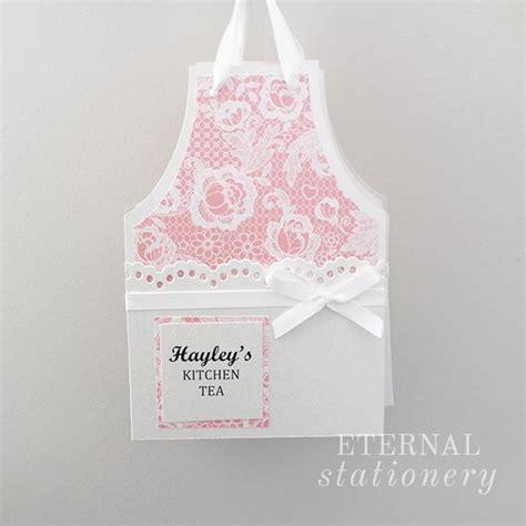 kitchen tea invites ideas vintage apron kitchen tea bridal shower invitation